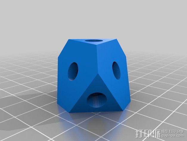 十二面体 齿轮 3D模型  图7