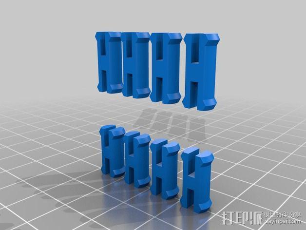 十二面体 齿轮 3D模型  图10