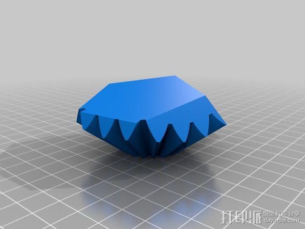 十二面体 齿轮 3D模型  图9