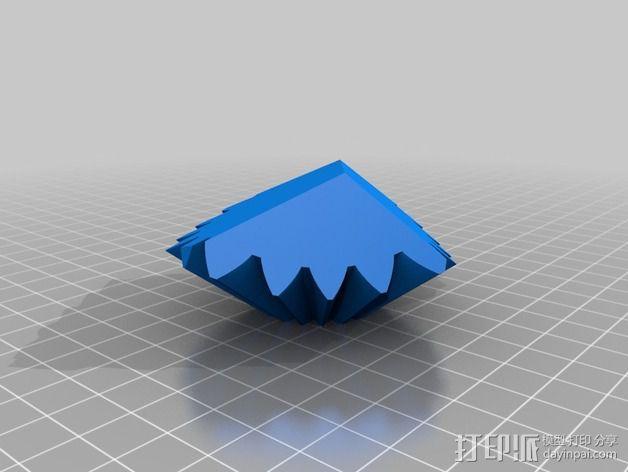 十二面体 齿轮 3D模型  图8