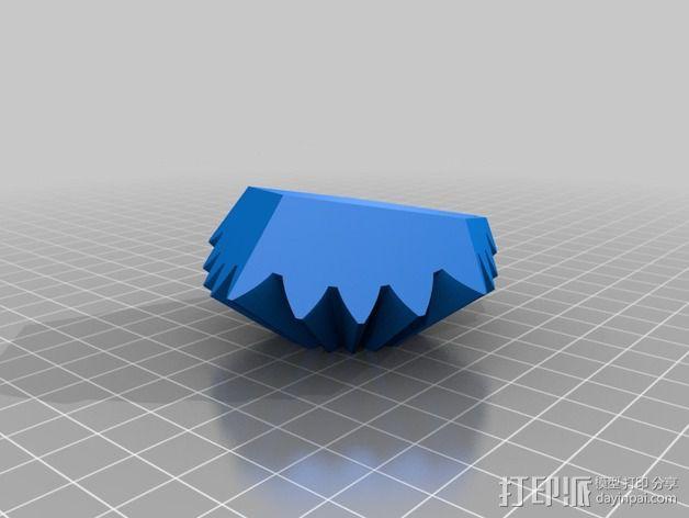十二面体 齿轮 3D模型  图11