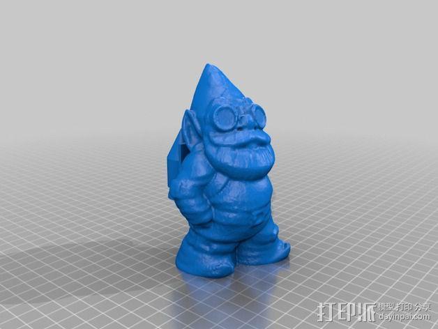 火箭侏儒 3D模型  图2