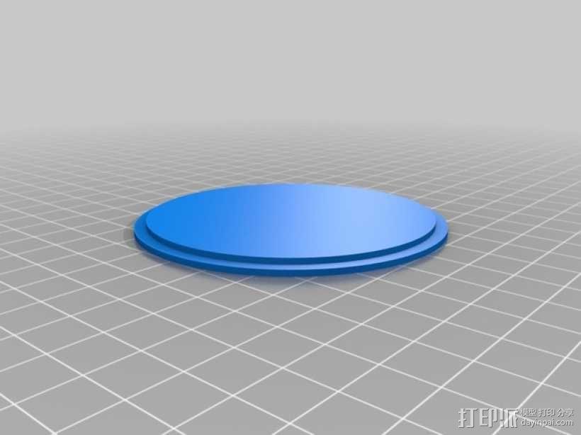 关在笼子里的小矮人 3D模型  图2