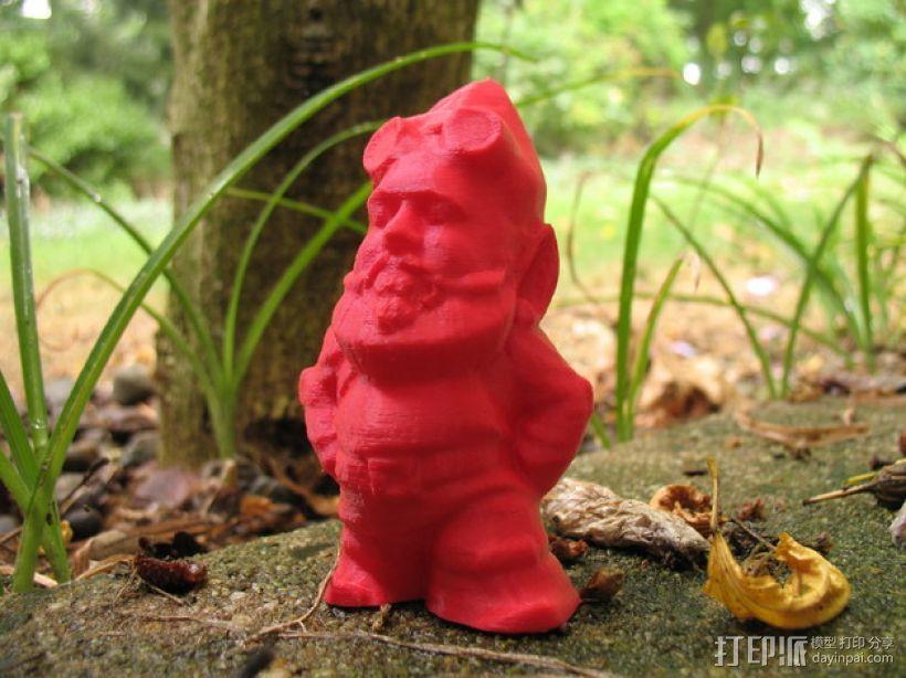 MakerBot小矮人 3D模型  图1