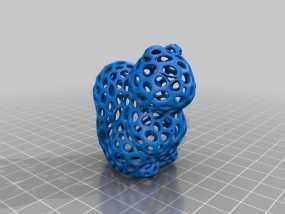 镂空松鼠 3D模型