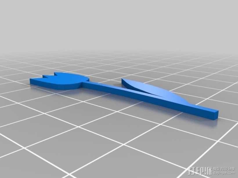 小花  3D模型  图2