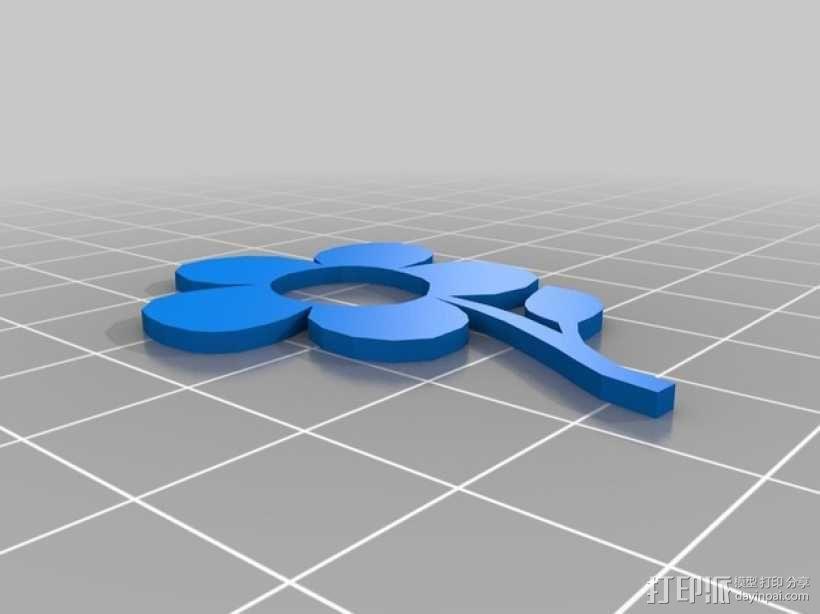 小花  3D模型  图3