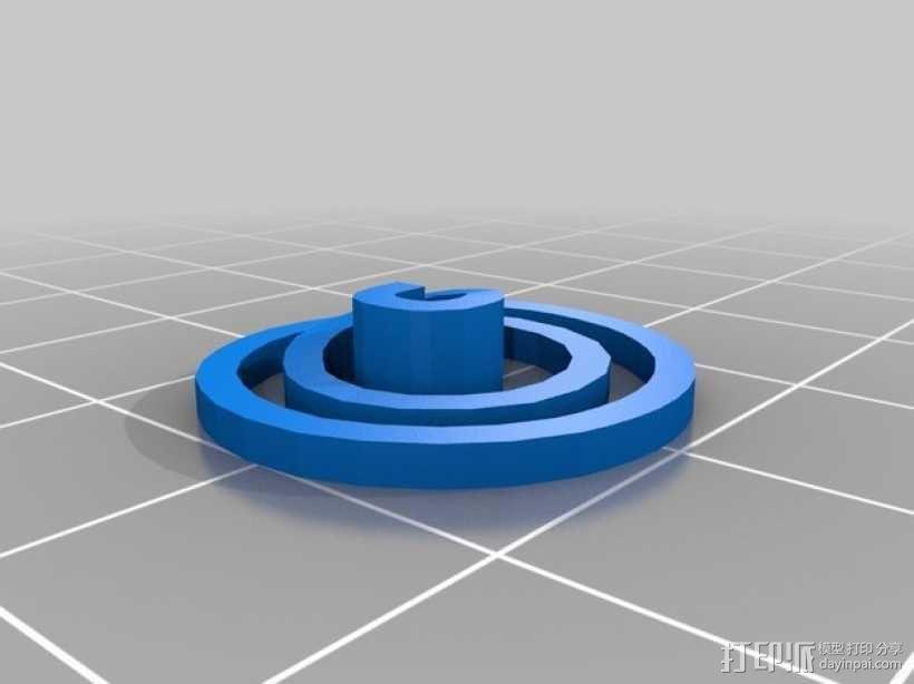 小花  3D模型  图5