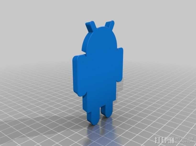 安卓机器人 3D模型  图3