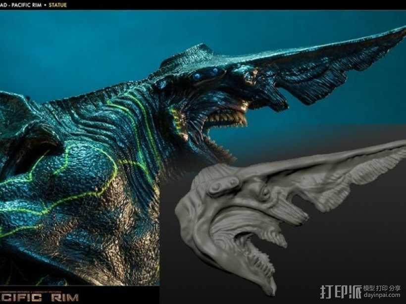 电影《环太平洋》怪兽 3D模型  图1