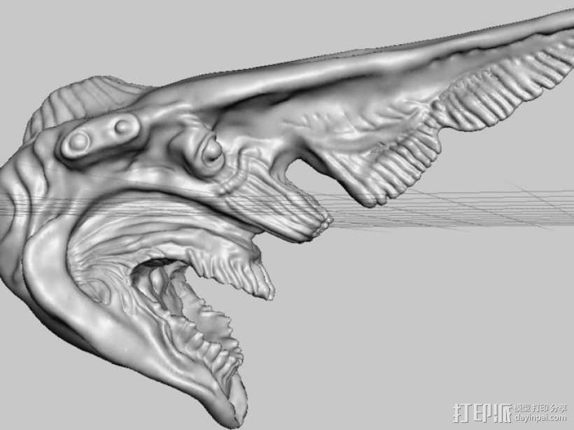 电影《环太平洋》怪兽 3D模型  图2