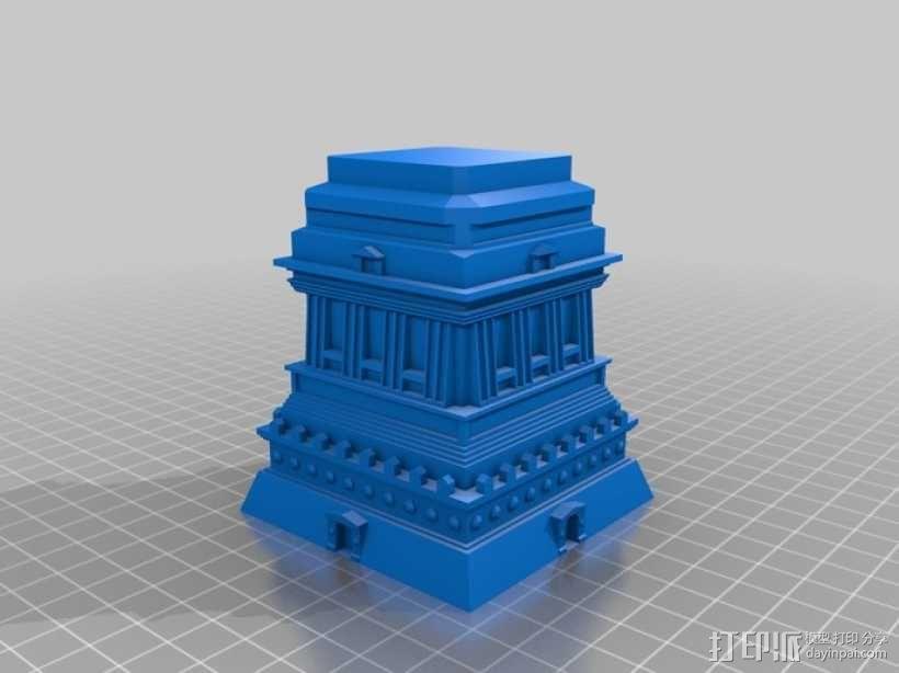 自由女神像 3D模型  图3