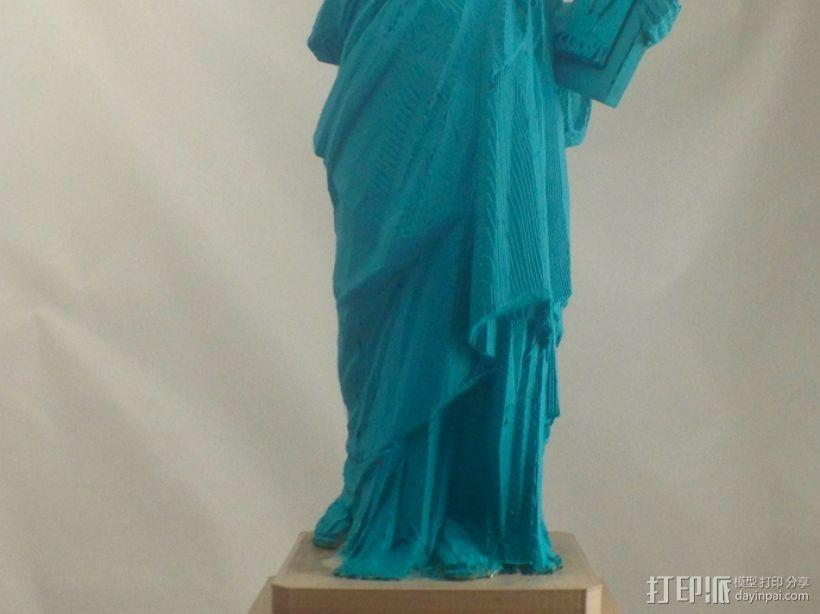 自由女神像 3D模型  图5