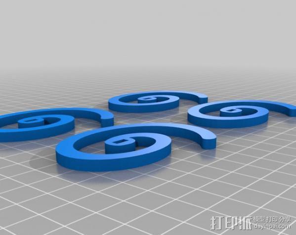 旋转飞花 3D模型  图5