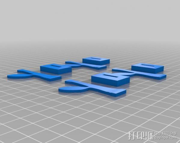 旋转飞花 3D模型  图6