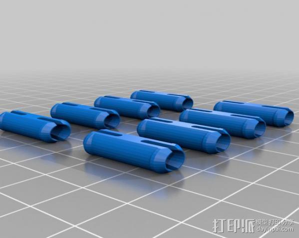 龙猫 齿轮 3D模型  图2