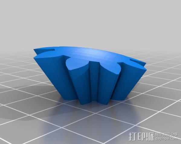 龙猫 齿轮 3D模型  图7