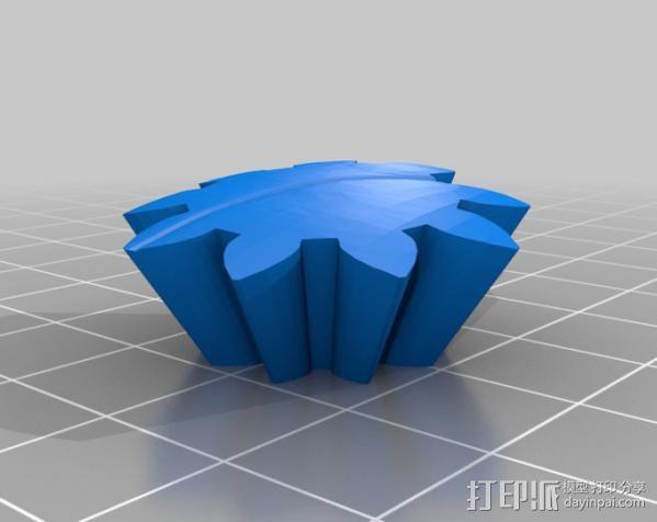 龙猫 齿轮 3D模型  图8