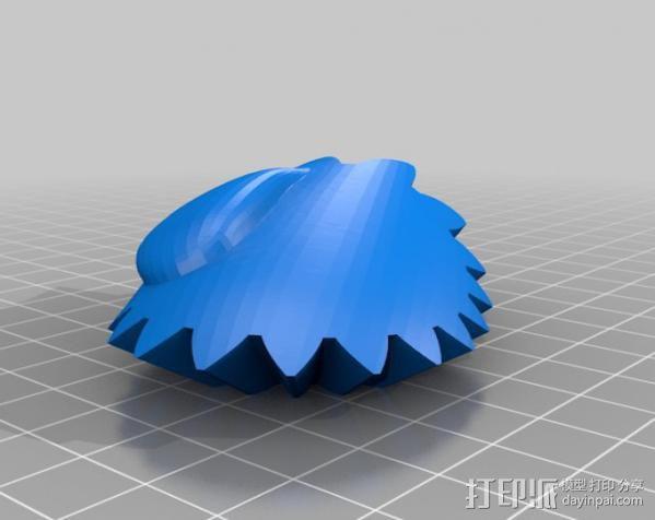 龙猫 齿轮 3D模型  图13