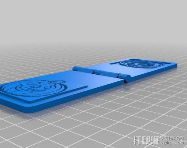 南瓜 浮雕 3D模型  图1