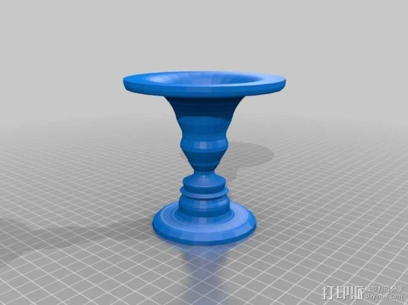 鲁宾杯 3D模型  图3