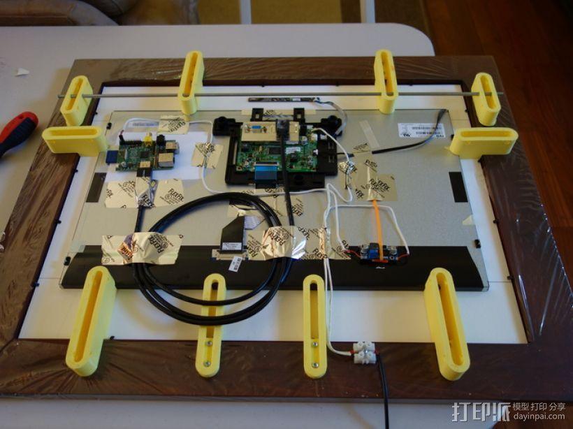 参数化智能相框 3D模型  图1