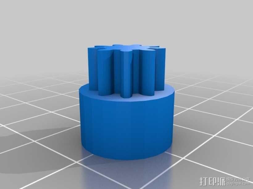 巨型滚珠轨道  3D模型  图19
