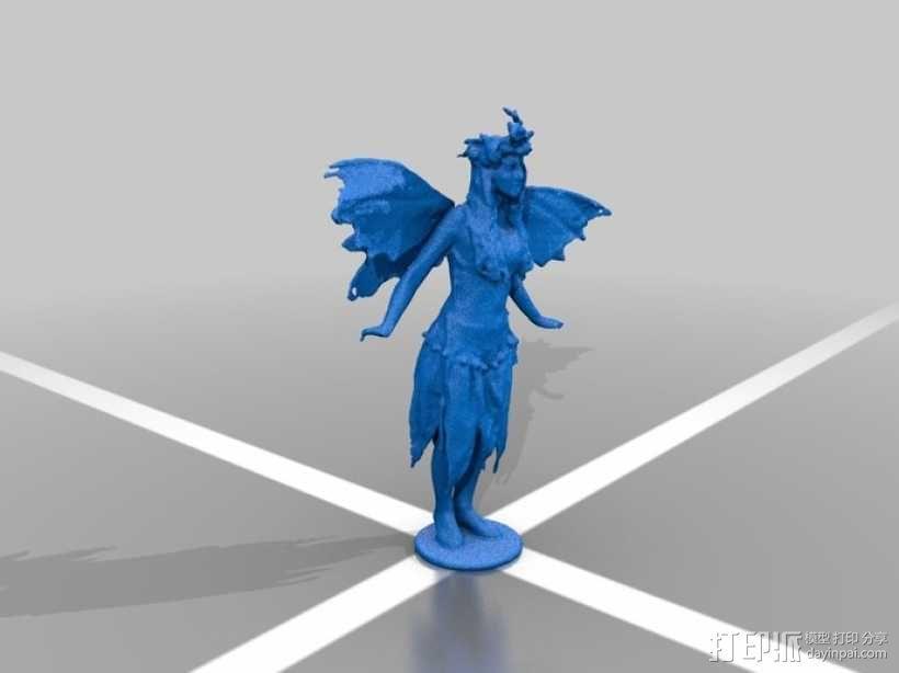 仙女 3D模型  图1