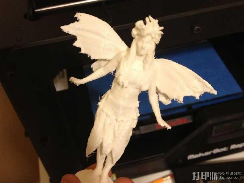 仙女 3D模型  图2