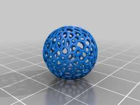 镂空小球 3D模型
