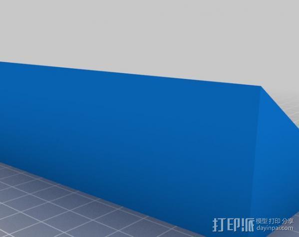 Testors 颜料瓶放置槽 3D模型  图3