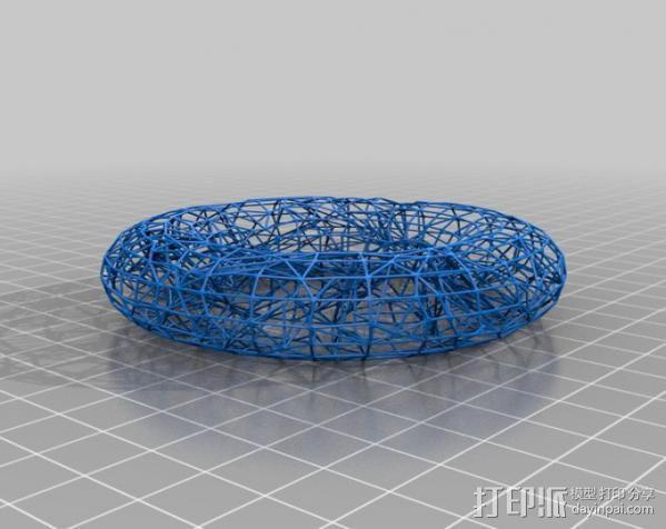 泰森多边形槽 3D模型  图2