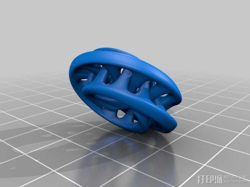 莫比乌斯环 3D模型  图1