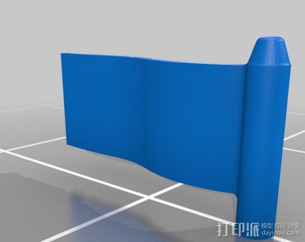 英国国旗  3D模型  图2