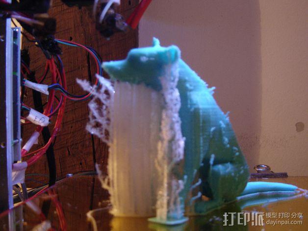 已逝的小狗 3D模型  图3