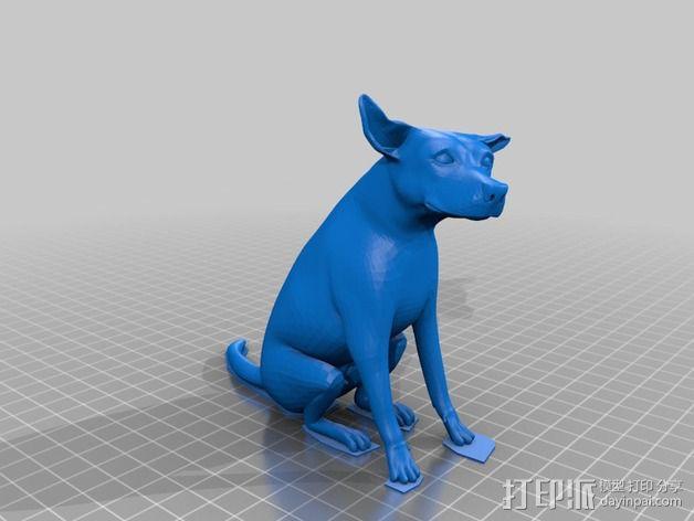 已逝的小狗 3D模型  图5