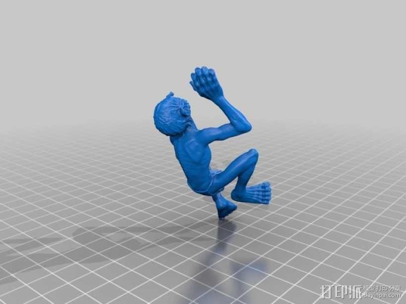 咕噜姆 3D模型  图1