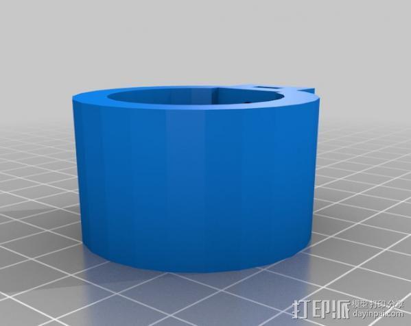 egg-bot 绘制机 3D模型  图4
