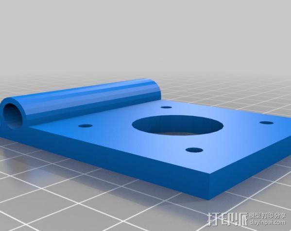egg-bot 绘制机 3D模型  图3