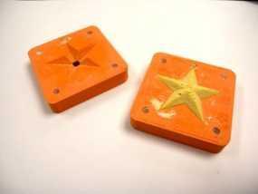 星星 模具 3D模型