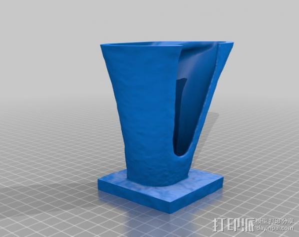 芭芭拉·赫普沃斯雕塑 3D模型  图4