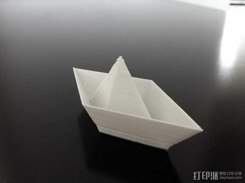 小纸船 3D模型  图1