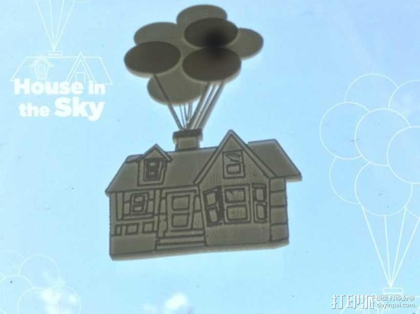 空中之城 3D模型  图2