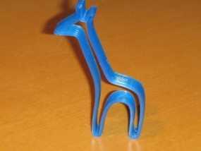 长颈鹿 3D模型