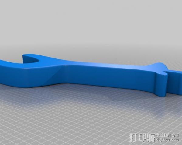 长颈鹿 3D模型  图2