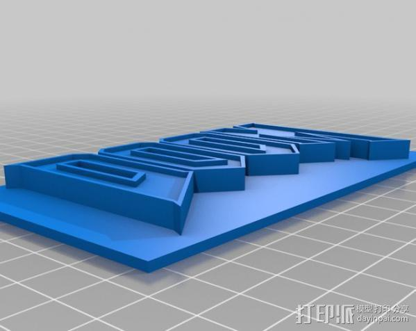 DooM 床头灯 3D模型  图7