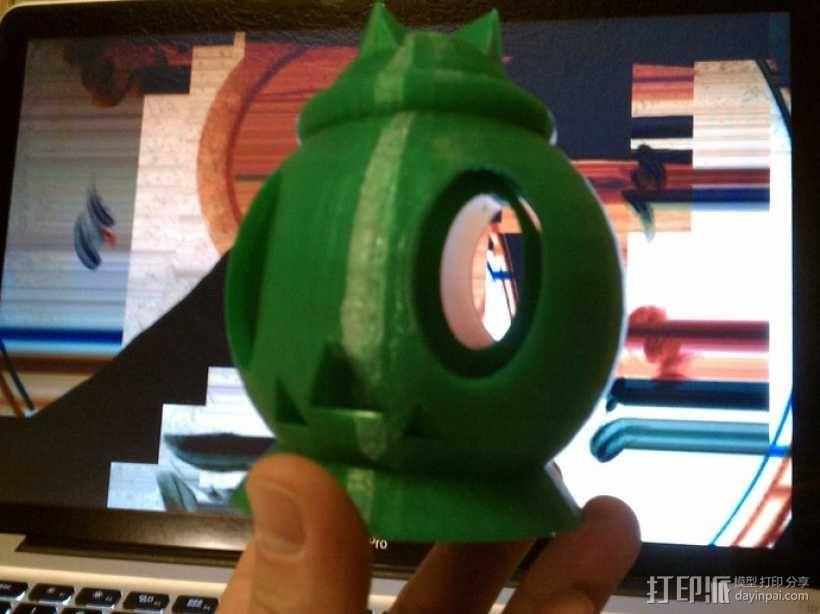 南瓜头 3D模型  图1