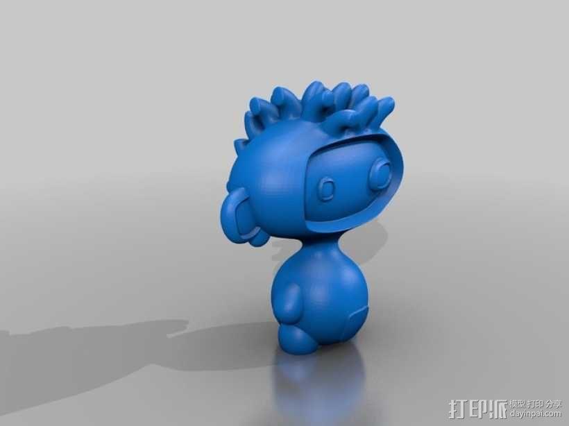 luxBooBoo 玩偶 3D模型  图2