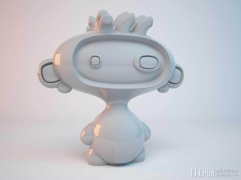 luxBooBoo 玩偶 3D模型  图3