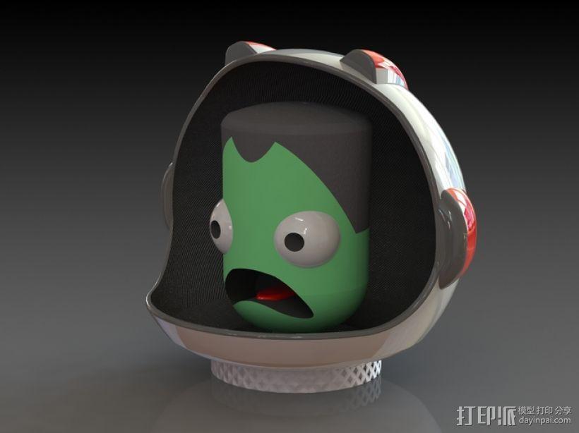 游戏《坎巴拉太空计划》玩偶 3D模型  图1